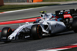 Valtteri Bottas (FIN) Williams FW37. 09.05.2015. Formula 1 World Championship, Rd 5, Spanish Grand Prix, Barcelona, Spain, Qualifying Day. - www.xpbimages.com, EMail: requests@xpbimages.com - copy of publication required for printed pictures. Every used picture is fee-liable. © Copyright: Moy / XPB Images