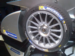 michelin-all-weather-tyres-on-18-inch-wheels-feature-on-the-new-formula-e-racing-car