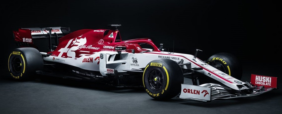 F1-2020 アルファロメオ・レーシングが「C39」を発表!オーレンがでかでかと主張